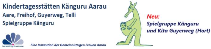 Kindertagesstätten Känguru Aarau. Alle Rechte vorbehalten.